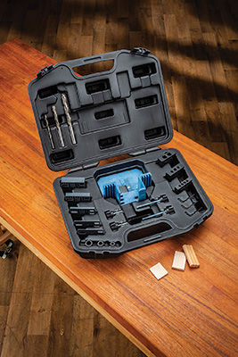 Beadlock pro joinery kit and plastic carrying case