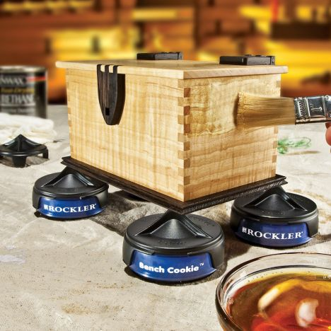 Rockler bench cookie finishing cones