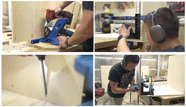 table saw cabinet how to photos