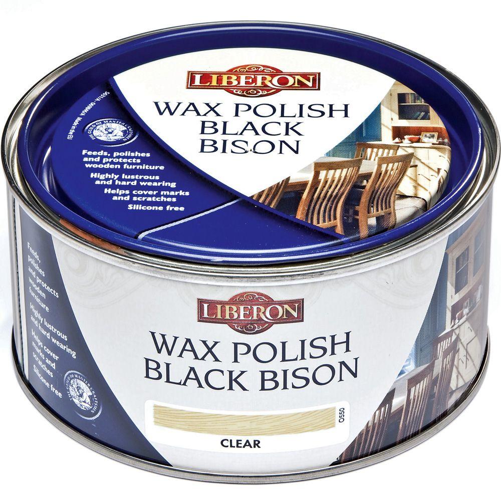 Liberon Black Bison paste wax finish