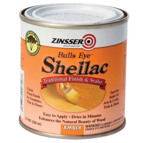 Zinsser bulls eye amber shellac