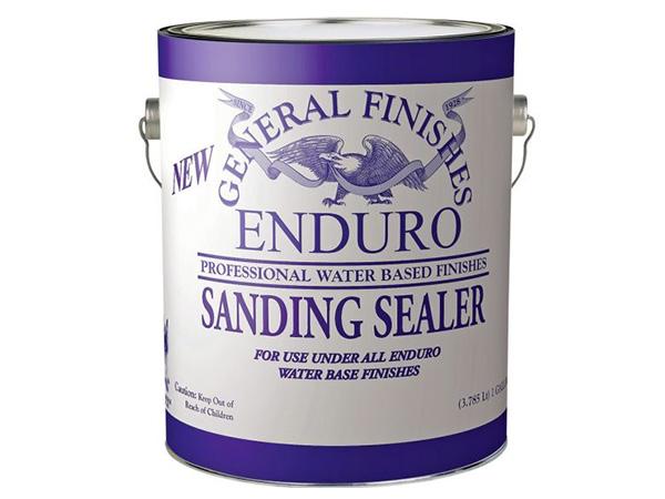 Can of general finishes enduro sanding sealer