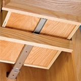 Drawer slide with a center mount