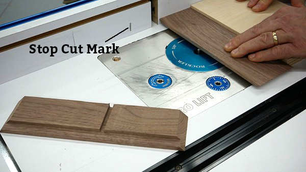routing wood