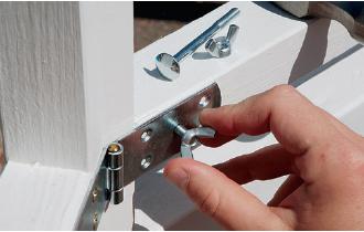 connecting gazebo panels