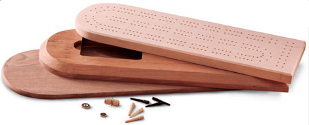cribbage board sections