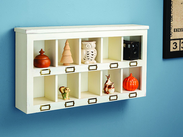 cubby cabinet project
