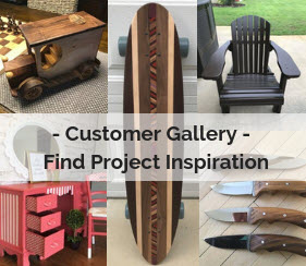 customer gallery - find project inspiration
