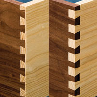 dovetail joint details