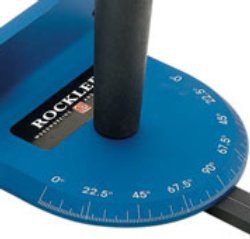Setting cutting angle on a miter gauge