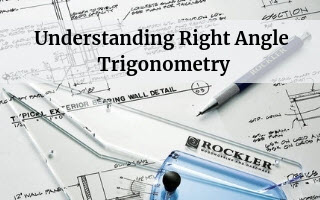 understanding right angle trigonometry