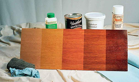 Demonstrating the effects of different levels of staining