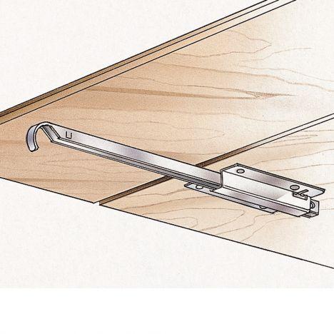 Metal drop leaf support drawing