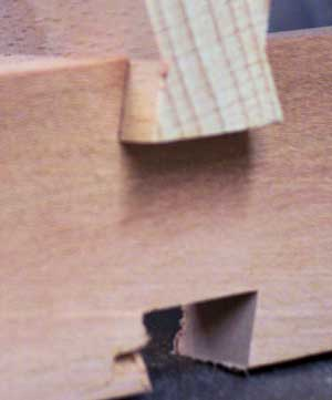 Checking installation fit for a butterfly dovetail key