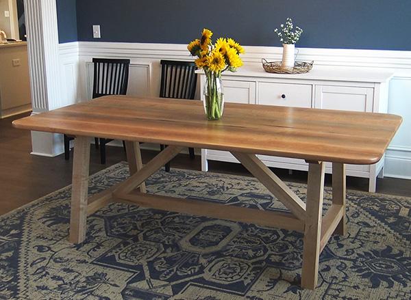 modern farm house dining table