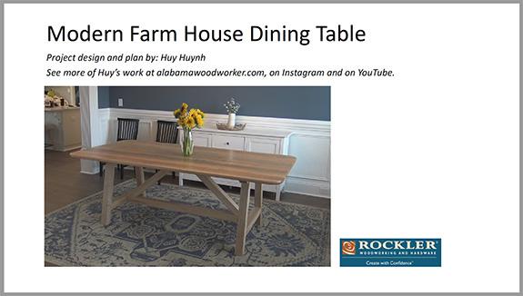 farm house table plan download button