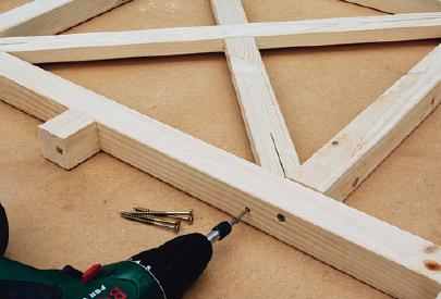fastening balustrade frame