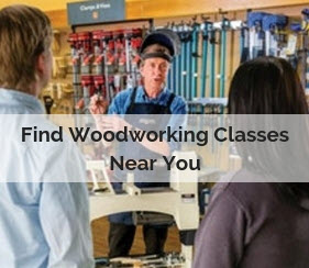 find woodworking classes near you