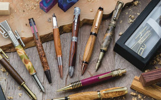 Getting Started Pen Turning How To Make A Handmade Wooden Pen