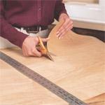 cutting veneer