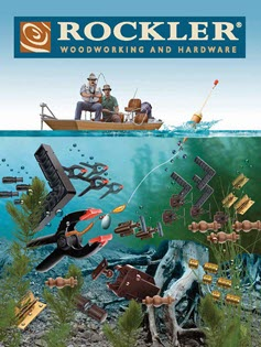 fishing themed catalog cover