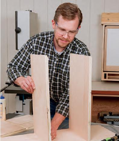 fitting fastening shelving rabbets
