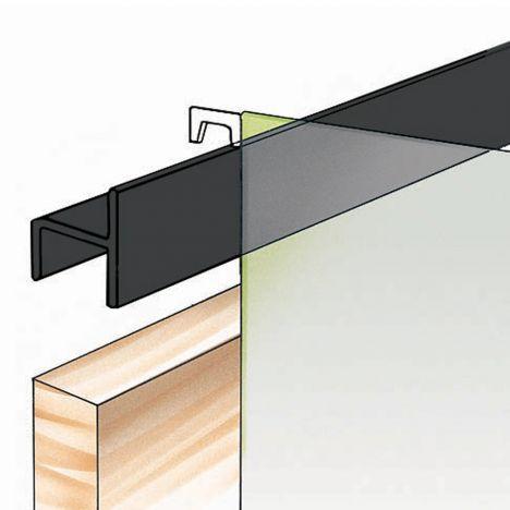 Rockler slip on folder hangers