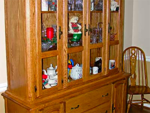 Heirloom hutch furniture