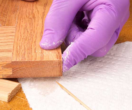 How To Repair Ed Wood - How To Fix A Split Table Top