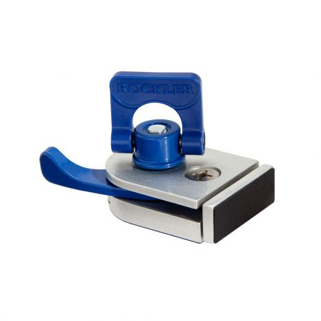 Rockler in-line cam clamp for t-track