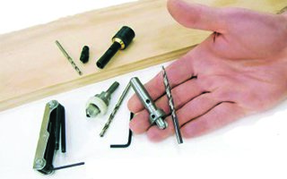 Depth-adjustable and removable countersink bits