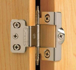 Wraparound Hinge A Is Style Of Where The Leaves Are Formed To Wrap Around Edge Door And Or Cabinet Side Face Frame