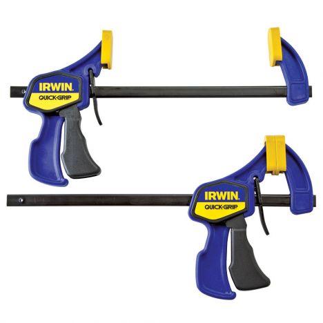 Irwin quick grip six inch mini bar clamps
