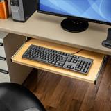 Drawer slide designed to mount a keyboard under a desk