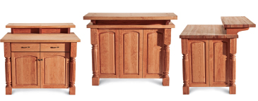 kitchen island paneling