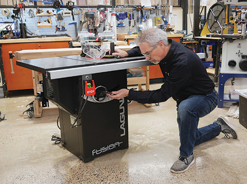Quick look at the Laguna Fusion F2 Table Saw