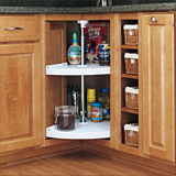 Example of lazy susan shelving