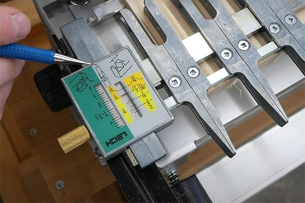 dovetail micro adjust
