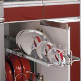 Shelf rack for organizing pot and pan lids