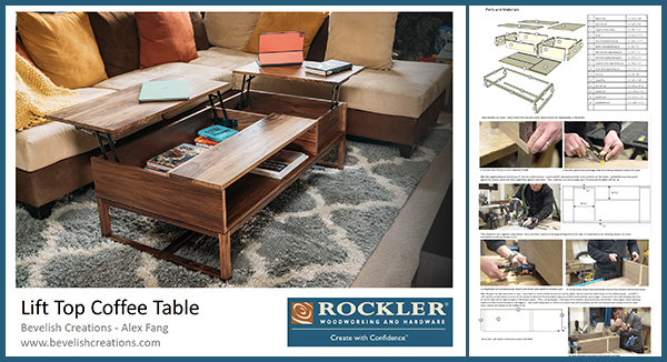 link to coffee table plan download
