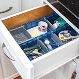 Rockler lock-align drawer organization inserts