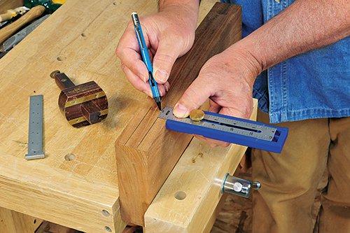 Using a multi mark rule to mark cuts