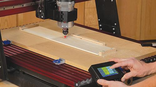 Programming CNC Shark to cut a domino pattern