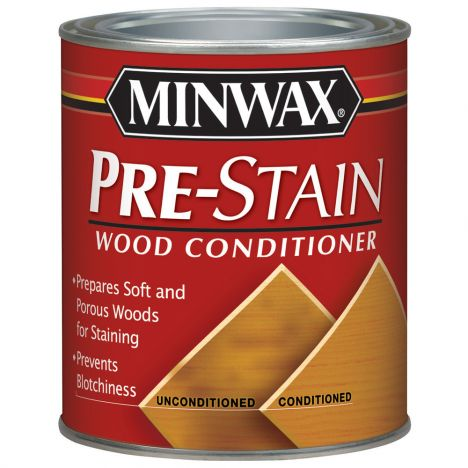 Minwax pre-stain wood conditioner can