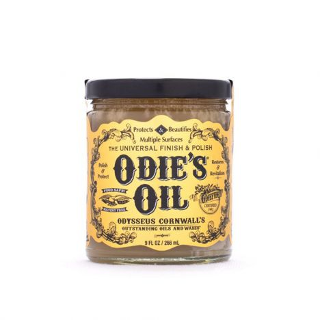 Odie's oil nine ounce jar
