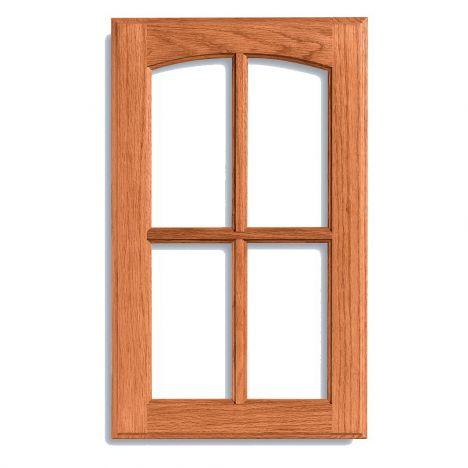 Patriot arch-style custom cabinet door