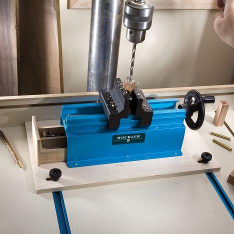 Rockler pen press drilling jig