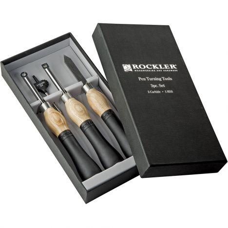 Rockler ergonomic carbide pen turning tools