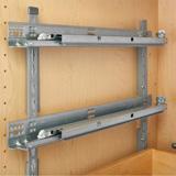 Pilaster style- shelf mounting brackets
