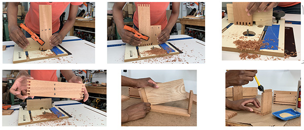 making a plant stand